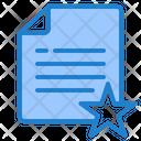 Favorite File Favorite Document Document Icon