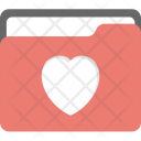 Heart Favourites Bookmarked Icon