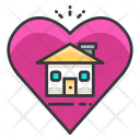 Favorite Love House Icon