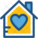 Home Love House Icon