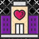 Favorite Hotel Love Hotel Romantic Hotel Icon