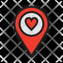 Location Pin Site Venue Icon