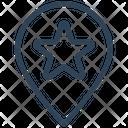 Seo Location Bookmark Icon