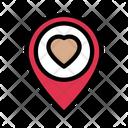 Heart Favorite Location Icon