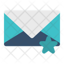 Mail Letter Star Icon