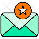 Favorite Mail Favorite Email Star Mail Icon