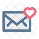 Love Heart Email Icon