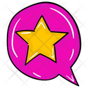 Favorite Message Message Bubble Speech Bubble Icon