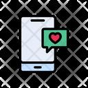 Favorite Love Message Icon