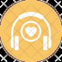 Favorite Music Headphones Love Music Icon