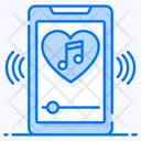 Favorite Music Audio Music Mobile Music Icon