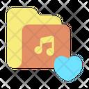 Favorite Music Folder Icon