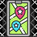 Favorite Place Favorite Location Favorite Navigation Icon