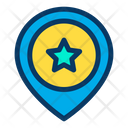Favorite Sign Location Pin Location Pointer Icon