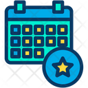 Favorite Schedule Icon