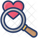 Favorite Shopping Search Finding Love Shopping Icon