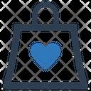 Bag Favorite Heart Icon