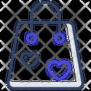Favorite Shopping Tote Bag Handbag Icon