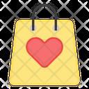 Favorite Shopping Shopping Bag Tote Icon