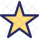 Favorite Sign Five Point Star Five Pointed Icon