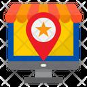 Favorite Store Favorite Location Icon