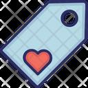 Tag Favorite Heart Icon