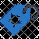 Favorite Tag Label Icon
