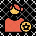 Favorite User Favorite Profile Female Profile Icon