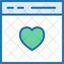 Favorite Webpage Bookmark Love Icon
