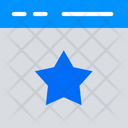 Favorite Webpage Star Favorite Icon