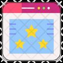 Favorite Website Website Rating Icon