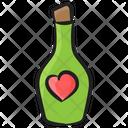 Favorite Wine Popping Cork Splashing Champagne Icon