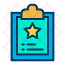 Favorites Clipboard Icon