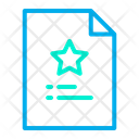 Favorites Document Icon