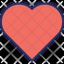 Favourite Hearts Like Icon