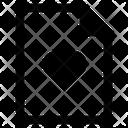 File Paper Page Icon