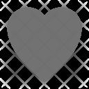 Favourite Heart Shape Icon