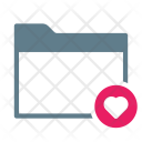 Favourite Heart Collection Icon