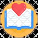 Love Book Heart Book Education Icon