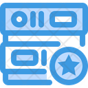 Star Database Network Icon