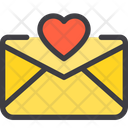 Love Paper Favourite Email Like Email Icon