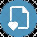 Favourite File Bookmark Document Icon