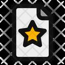 Favourite File Icon