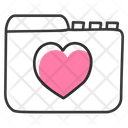 Favourite Folder Data Folder Data Pocket Icon