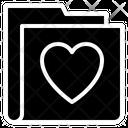 Love Heart Folder Icon
