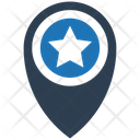Favourite Location Pin Icon