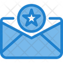 Best Star Favourite Mail Starred Mail Icon