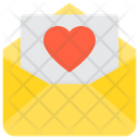 Love Favourite Mail Like Mail Icon