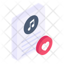 Music File Favourite Music Favourite Song Icon