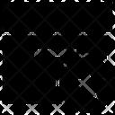 Paper Box Star Icon